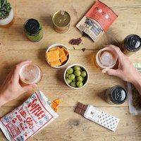 Game Night Snacks N Beer Gift Box