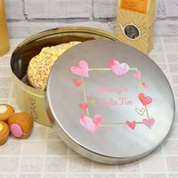 Personalised Large Cake Tin