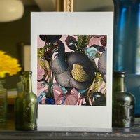 Three Dodos Single Dodo Original Artwork Print