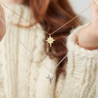 Personalised Guiding Star Necklace