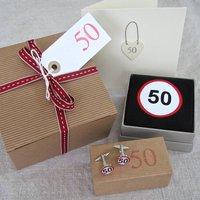 Happy 50th Birthday Filled Gift Box