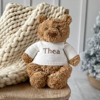 Personalised Bartholemew Bear Large Teddy Soft Toy