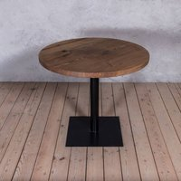 Bistro Ash Solid Wood Round Dining Table