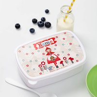 Girls Personalised Little Red Riding Hood Lunch Box