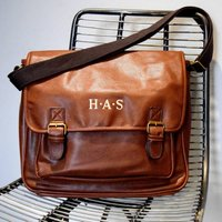 Personalised Messenger Laptop Bag