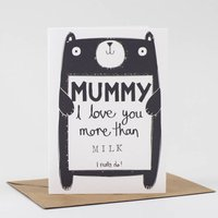 Personalised Mother's Day Card For Mum Or Mummy