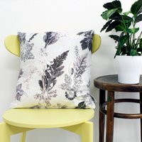 Cool Winter Style Botanical Scatter Cushion