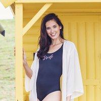 Personalised Kaftan And Swimsuit Gift Set