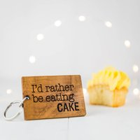 Personalised I'd Rather Be...Keyring