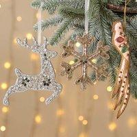 Fairytale Christmas Hanging Handmade Tree Decorations