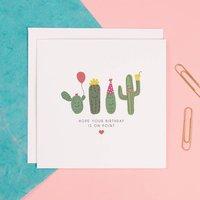 Funny Birthday Cactus Card