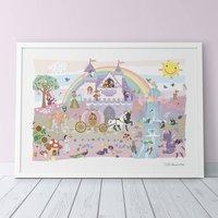 Once Upon A Time Princess Print, Pink