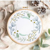 Wintertide Embroidery Kit