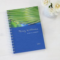 Personalised 2021 Diary For Plant Lovers