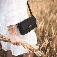 The Slate Cross Body Leather Bag