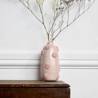 Handmade Ceramic Vase In Pink