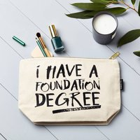 Foundation Degree Make Up Pouch