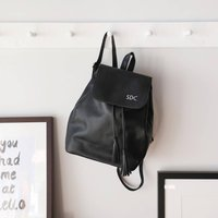Personalised Fold Top Backpack