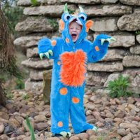 Blue And Orange Monster Costume 12m+