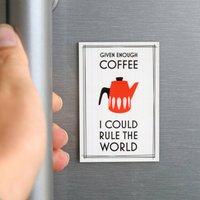 Coffee Fridge Magnet Stocking Filler