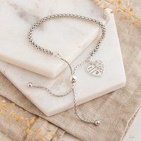 Sterling Silver Friendship Bracelet, Silver