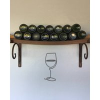 Wine Glass Minimalist Wire Wall Art