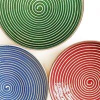 Handmade Spiral Platter