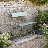 French Folding Bistro Bench
