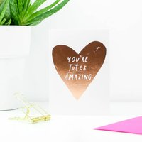 'You're Totes Amazing' Greetings Card