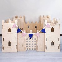 Ultimate Fort Childrens Flat Pack Wooden Play Kit