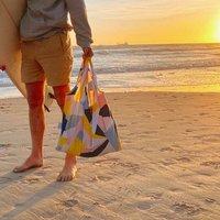 Mosaic 100% Recycled Plastic Reusable Bag