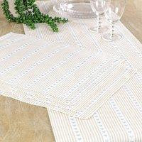Country Farmhouse Four Person Table Linen Set