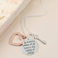 My Favourite Person Meaningful Words Necklace
