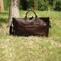 Genuine Leather Boot Bag