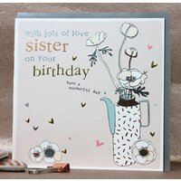 Sister Birthday Card