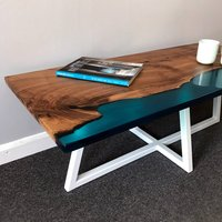 Shoreline Coffee Table In Walnut