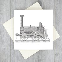 Vintage Train Note Cards