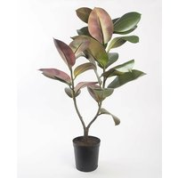 Ficus Elastica Artificial Plant