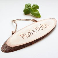 Personalised Natural Door/Wall Sign