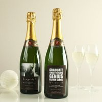Personalised Graduation Champagne