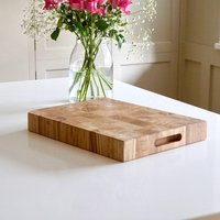 Personalised Reversible End Grain Cutting/Carving Board