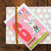 Happy Birthday Rabbit Six Card