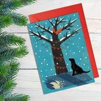 Winter Dog Card
