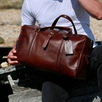 Explorer Eco Friendly Leather Travel Bag