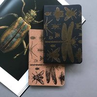 Bugs Leather Pocket Notebook