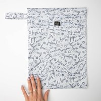 Signature Print Nappy Storage Bag