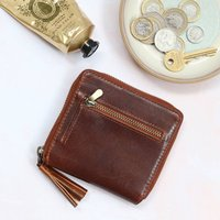 Small Leather Wallet Style Purse