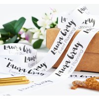 Business Branded 25mm Personalised Printed Ribbon