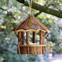 Woodland Carousel Hanging Bird Feeder