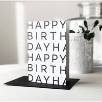 Personalised Birthday Greetings Card